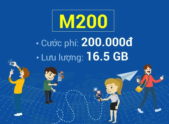 Hướng dẫn đăng ký gói M200 của Mobifone với ưu đãi khủng.