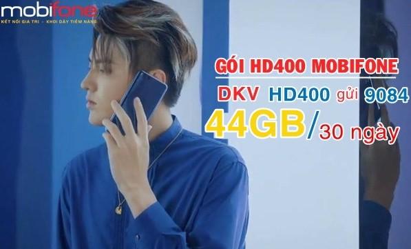Cách nhận 44GB từ gói HD400