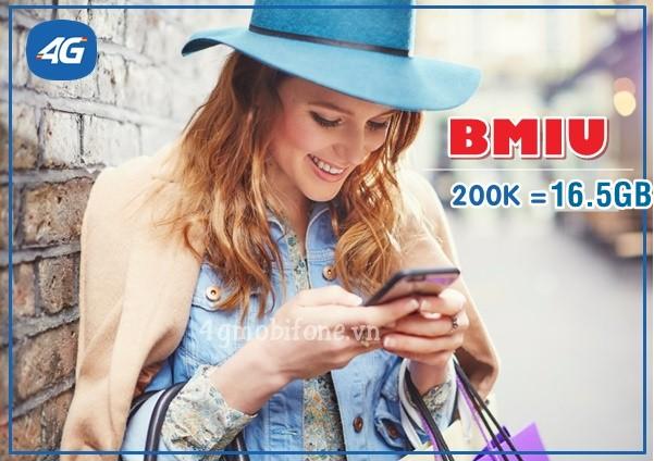 Hướng dẫn đăng ký gói BMIU Mobifone nhận ngay 16,5GB chỉ với giá 200.000đ