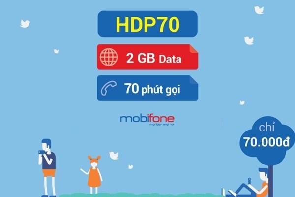 Hướng dẫn đăng ký gói HDP70 của Mobifone với ưu đãi bất ngờ.