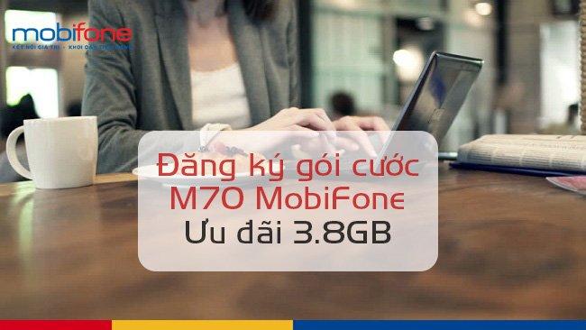 Hướng dẫn đăng ký gói M70 Mobifone chỉ 70.000VNĐ 1 tháng.