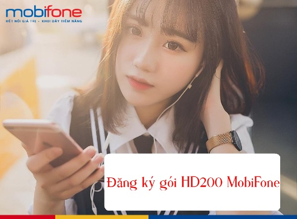 Hướng dẫn đăng ký gói HD200 hưởng ưu đãi đến 16,5GB data tốc độ cao.