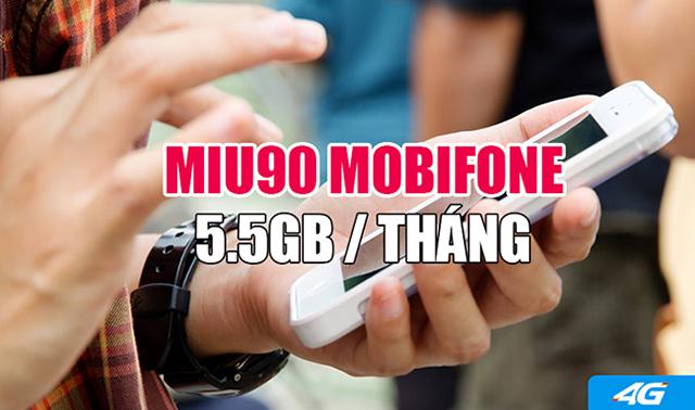 Hướng dẫn đăng ký 3G gói MIU90 Mobifone để nhận ưu đãi 5,5GB data