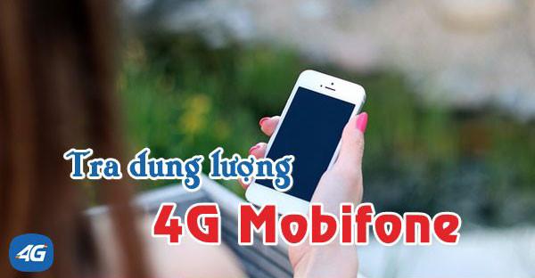 Các cách kiểm tra dung lượng 4G Mobifone nhanh chóng và chính xác.