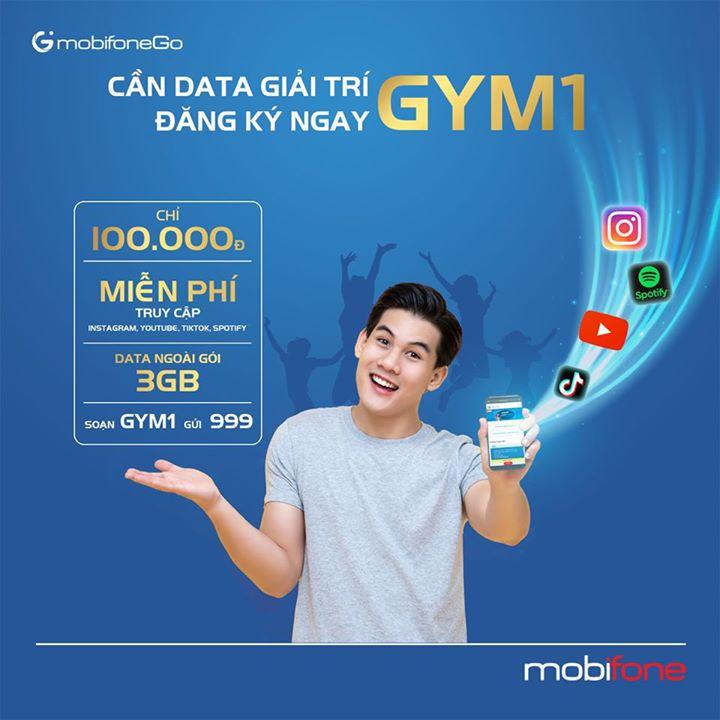 Hướng dẫn đăng ký gói cước GYM1 Mobifone.