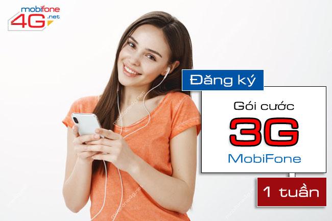 CÁCH ĐĂNG KÝ GÓI CƯỚC 3G MOBIFONE 1 TUẦN GIÁ RẺ
